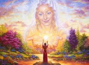 женщина Богородица