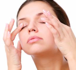 улучшение зрения_массаж